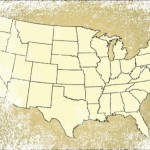 Outline map of the United States: Phytanna's Hemp/Cannabis Industry Blog