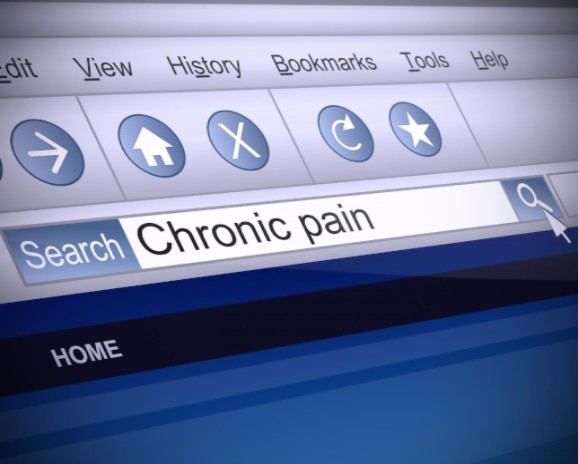 chronic pain concept
